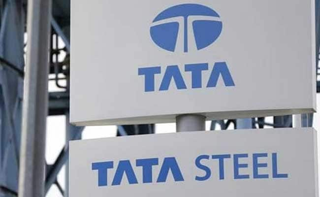 Tata Steel shares rose 4.15% to Rs 624.95 on the BSE