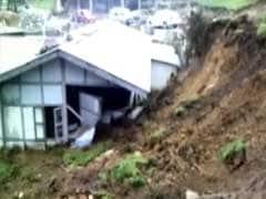 Rajnath Singh Reviews Landslide, Floods Situation In Arunachal Pradesh