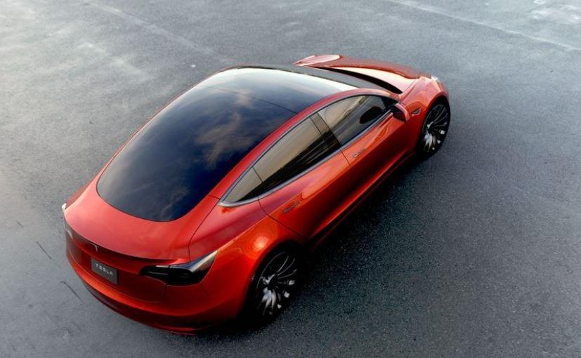 Tesla Model 3 Top View