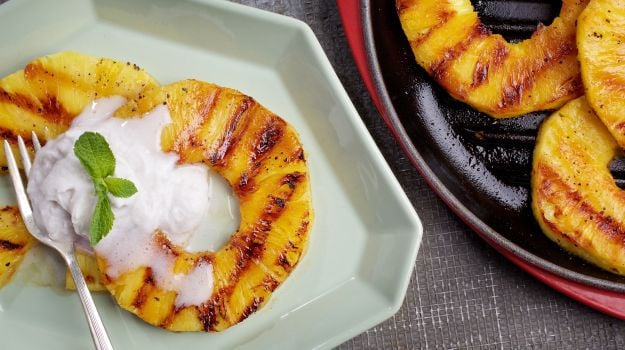 Pineapple on the Grill: The Secret's in the Spice