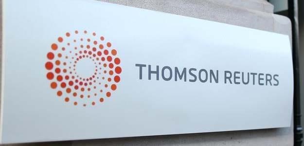 Thomson Reuters Posts Flat Revenue For First Quarter