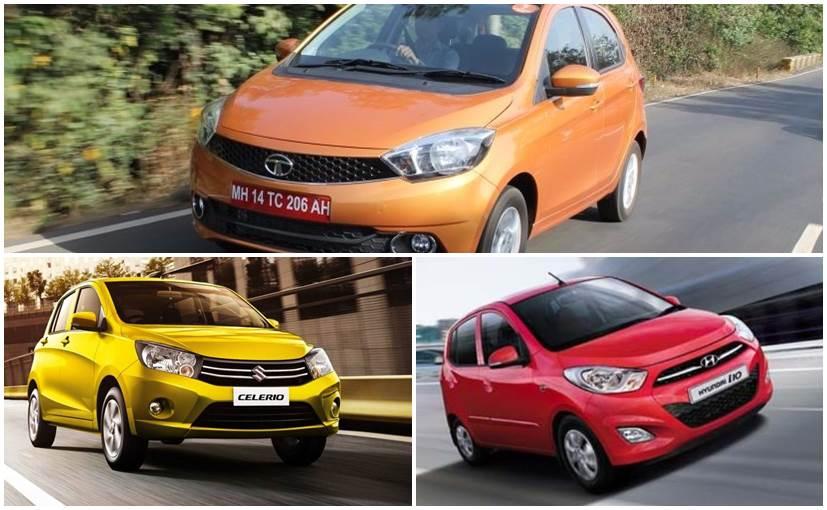 Tata Tiago vs Maruti Suzuki Celerio vs Hyundai i10: Specifications Comparison