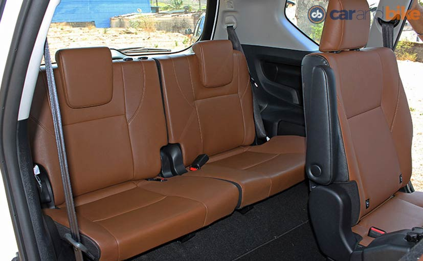 Toyota Innova Crysta Third Row Seats