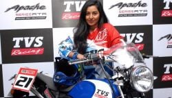 TVS Racing Appoints Shreya Iyer as Team's First Woman Racer