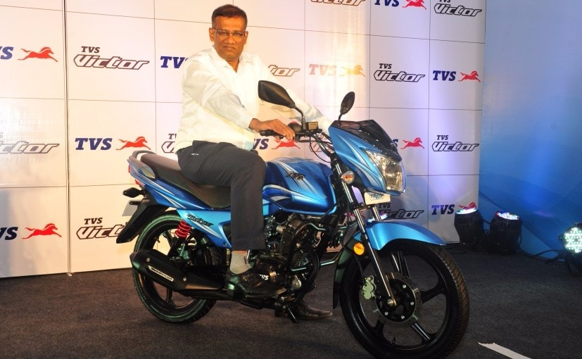 2016 TVS Victor Launched in Delhi; Prices Start at ₹ 49,490