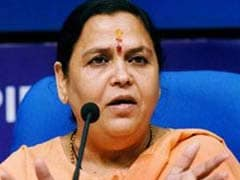No One Can Separate Me From Ganga, Says Sulking Uma Bharti