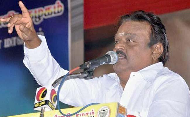 தேமுதிக தலைவர் விஜயகாந்தின் ஸ்பெஷல் குடியரசு தின வாழ்த்து! #Video