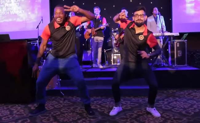 Virat Kohli Dances up a Storm With Chris Gayle, Shane Watson Sings