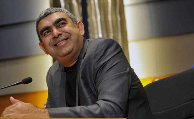 Vishal Sikka Says Trump Win May Weigh On Infosys Margins