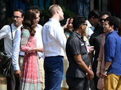 In Mumbai, Kate Middleton Plays Cricket With Sachin Wearing Anita Dongre