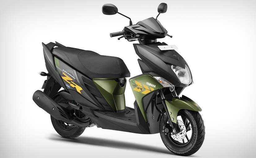 Yamaha Cygnus Ray-ZR Scooter Launched; Prices Start at ₹ 52,000