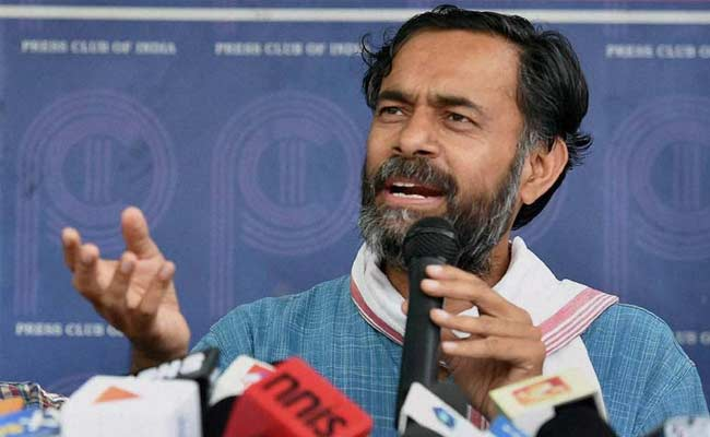 'Can't Silence Me': Yogendra Yadav After Tax Raids At Sisters' Hospitals