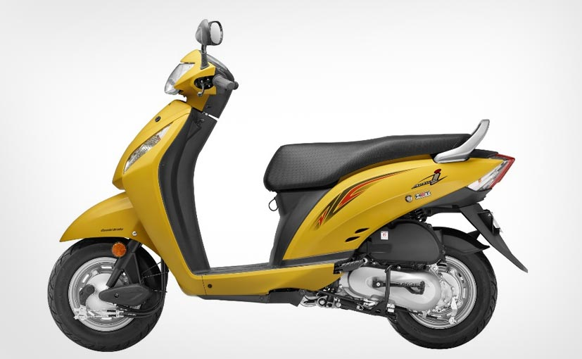 2016 Honda Activa I Launched With New Colours Priced At 46 596