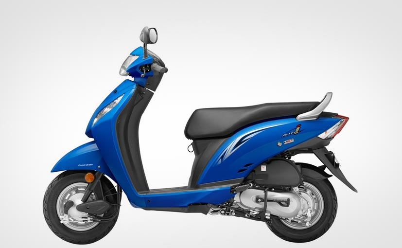 2016 Honda Activa-i Jazzy Blue