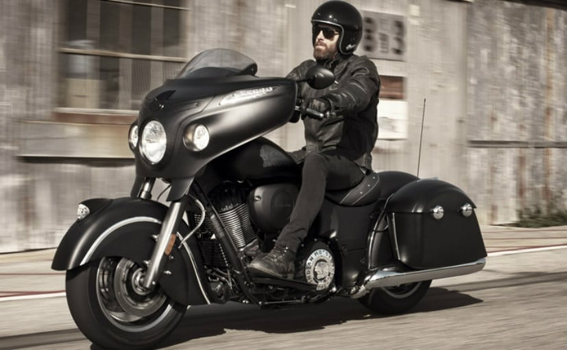 indian chieftain dark horse unveiled ndtv carandbike. Black Bedroom Furniture Sets. Home Design Ideas