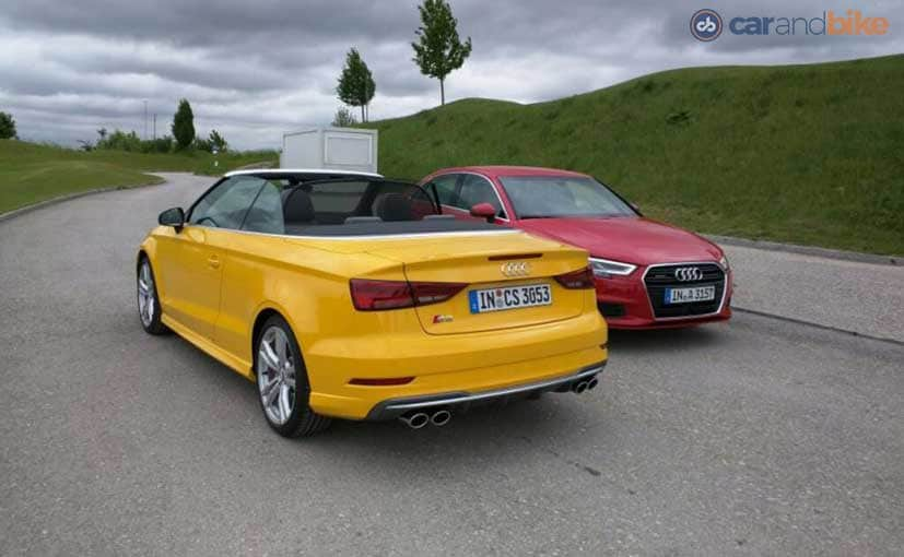 Audi A3 Cabriolet Facelift Launched In India At Rs 47 98