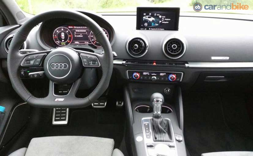2017 Audi A3 Facelift Dashboard