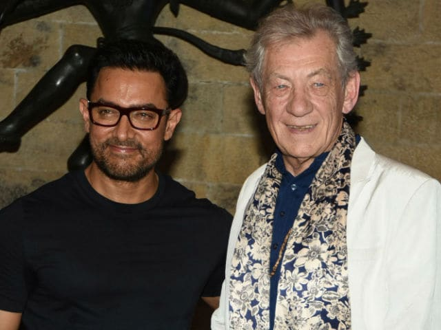 Shakespeare Isn't Old-Fashioned, Ian McKellen Told Aamir Khan