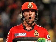 आईपीएल 9 के फ़ाइनल से पहले एबी डिविलियर्स ने की मौज-मस्ती, परिवार के साथ वक्त बिताया