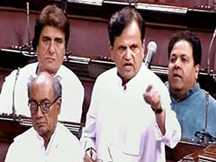 'Witch-Hunt For 1 Seat', Says Congress' Ahmed Patel As Taxmen Visit Bengaluru Resort