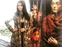 Cannes: Aishwarya Rai Bachchan Spotted in Rohit Bal Couture
