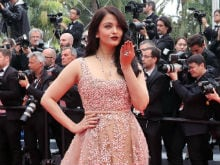 Aishwarya Rai Bachchan Wins Cannes Red Carpet in Gold Lace