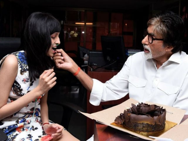Amitabh Bachchan Fulfills Cancer Patient's Wish, Celebrates Her Birthday