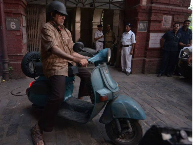 Amitabh Bachchan's Antique Scooter From TE3N Catapults its Owner to Fame