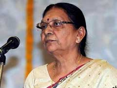 Anandiben Patel Breaks Down As Young Girl Spoke On Female Foeticide