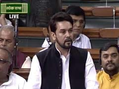 For Mobile Phone Use In Parliament, Anurag Thakur Expresses Regret, Warned