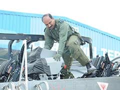 Air Chief Arup Raha's 'Test' Flight In Tejas Fighter Aircraft