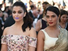 Cannes: Aishwarya Rai Bachchan, Richa Chadha Attend <I>Sarbjit</i> Screening