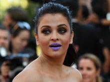Cannes: Aishwarya Rai Bachchan's Purple Lips Keep Twitter Busy