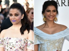 Aishwarya Wanted to be 'Discussed' For Her Purple Pout, Says Sonam Kapoor
