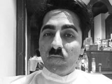Ayushmann Khurrana's Look #2 For <i>Meri Pyaari Bindu</I> is Inspired by Hitler