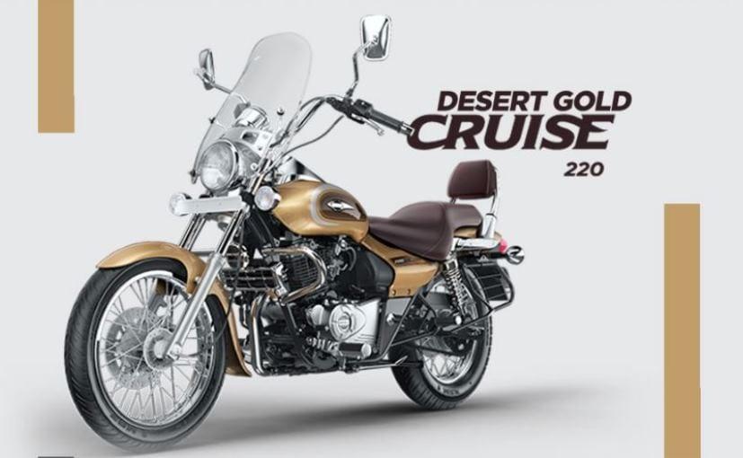 Bajaj Avenger Cruise 220 Launched in New Desert Gold Colour Option