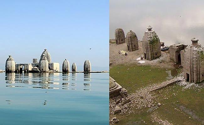 साल के आठ महीने पानी में डूबा रहता है यह मंदिर, यहां पांडव बनाना चाहते थे स्वर्ग जाने के लिए सीढ़ी