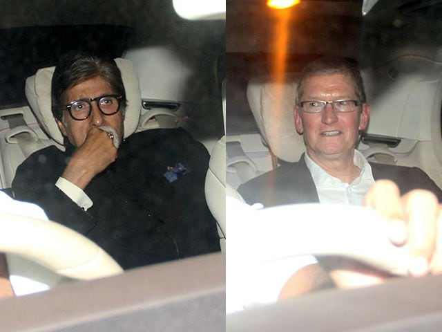 At Shah Rukh Khan's Party For Tim Cook: Bachchans and Aamir Khan