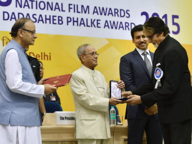 National Awards: Amitabh Bachchan Tweets He is 'Humbled and Touched'