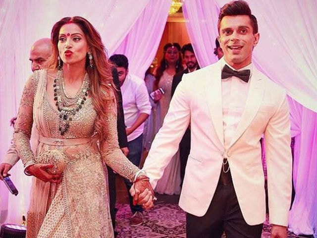 In Bipasha's Pics After Wedding, a Curious Case of Absentee Husband