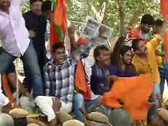600 Detained In Delhi As BJP Protests Party Worker's Killing In Kerala