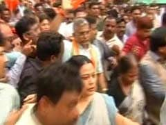 BJP's Bid To March Towards Mamata Banerjee's Residence Foiled