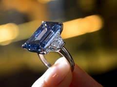 Rare Blue Diamond Aims For Record Price At Geneva Auction