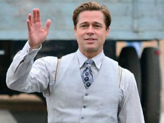 Brad Pitt Saves Young Fan From Getting Crushed During Film Shoot
