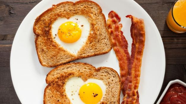 egg in a blanket