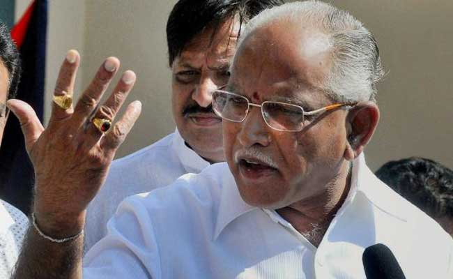 Temporary Relief For BS Yeddyurappa From Karnataka High Court In De-notification Case