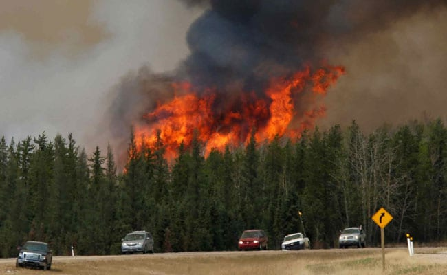 Cooler Weather Welcomed In Canada's Fire-Stricken Energy Heartland