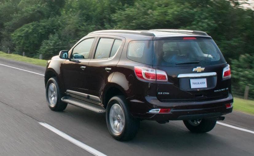 Chevrolet Trailblazer Rear Profile