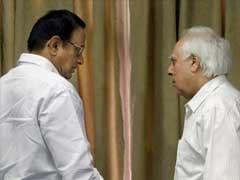 Congress Nominates P Chidambaram, Kapil Sibal For Rajya Sabha Elections