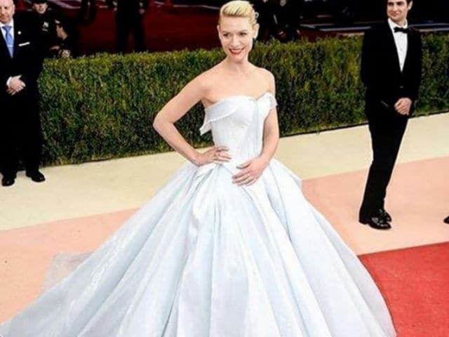You Won't Believe What Claire Danes Wore to the Met Gala